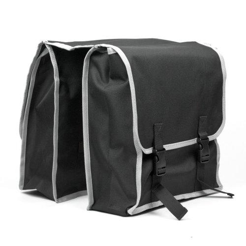 TekBox Large Double Pocket Bike Bicycle Rear Rack Pannier Bag/Water Resistant Cycle Carrier