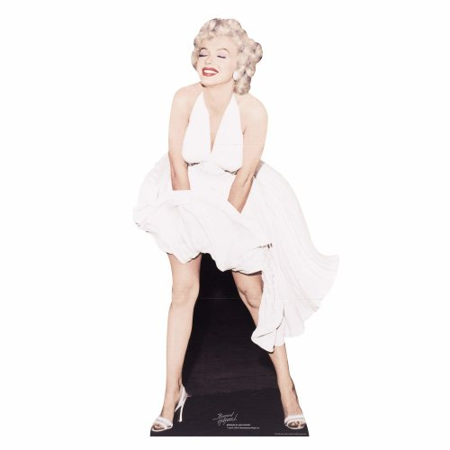 STAR CUTOUTS SC279 Marilyn Monroe Cardboard Cut Out