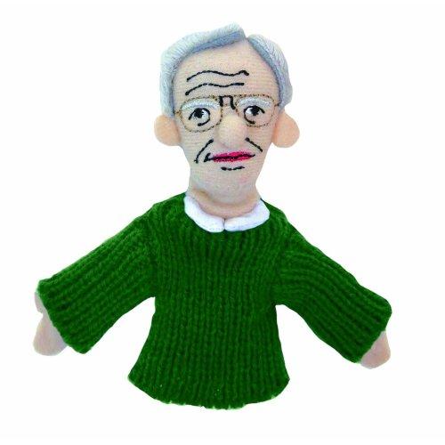 Finger Puppet - UPG - Noam Chomsky Soft Doll Toys Gifts Licensed New 3556