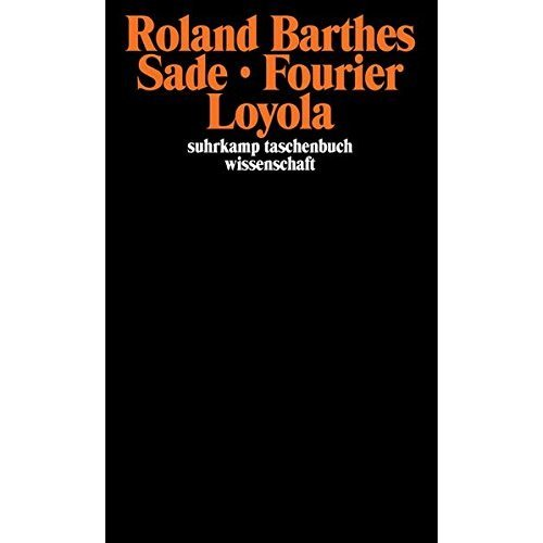 Sade Fourier Loyola.