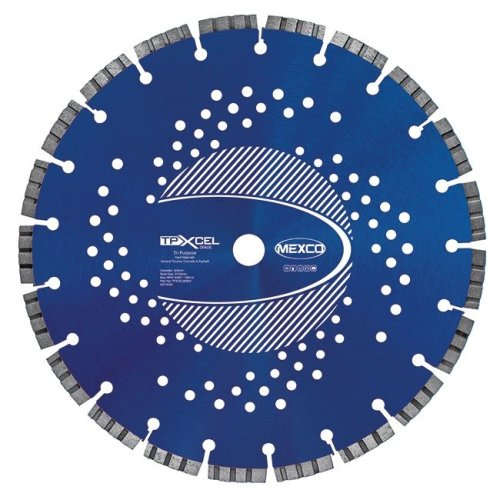Mexco TPXCEL 300mm Tri-Purpose Diamond Blade