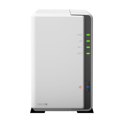 Synology DS218J NAS Compact Ethernet LAN White storage server