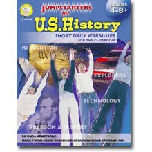 Jumpstarters for Us History Grade 4-8 Book