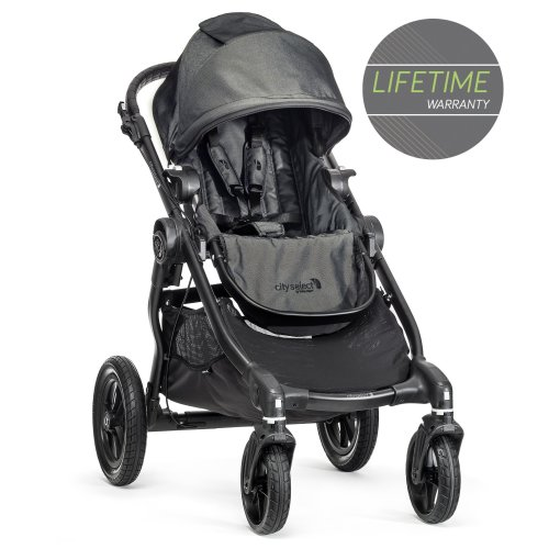 Baby Jogger City Select Single Stroller Charcoal Denim