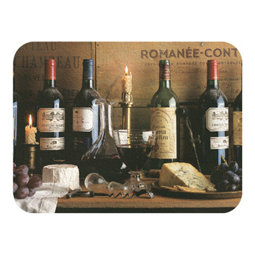 Creative Tops Vintage Wine Glass Work Top Saver Chopping Board