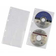 Durable 5203-19 Sleeve case 2discs Transparent