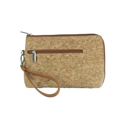 Picnic Gift 7320-CR French 75-Daily Essentials Cosmetics Bags with Removable Wristlet, Cork