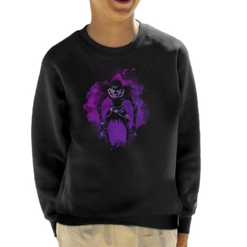 Soul Of The Death Note Ryuk Kid's Sweatshirt