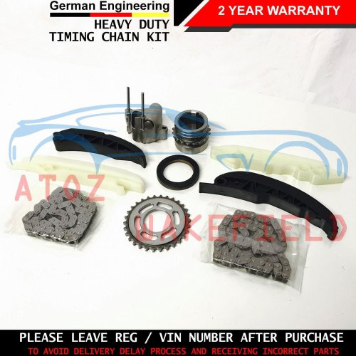 FOR BMW E60 E61 E90 E91 UPPER LOWER DIESEL ENGINE TIMING CHAIN KIT M57D30 N57D30