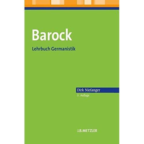 Barock: Lehrbuch Germanistik