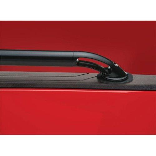 2015-C F150 5.5 ft. Bed Locker Side Rails - Black