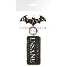 Batman Arkham City Certified Insane Keyring