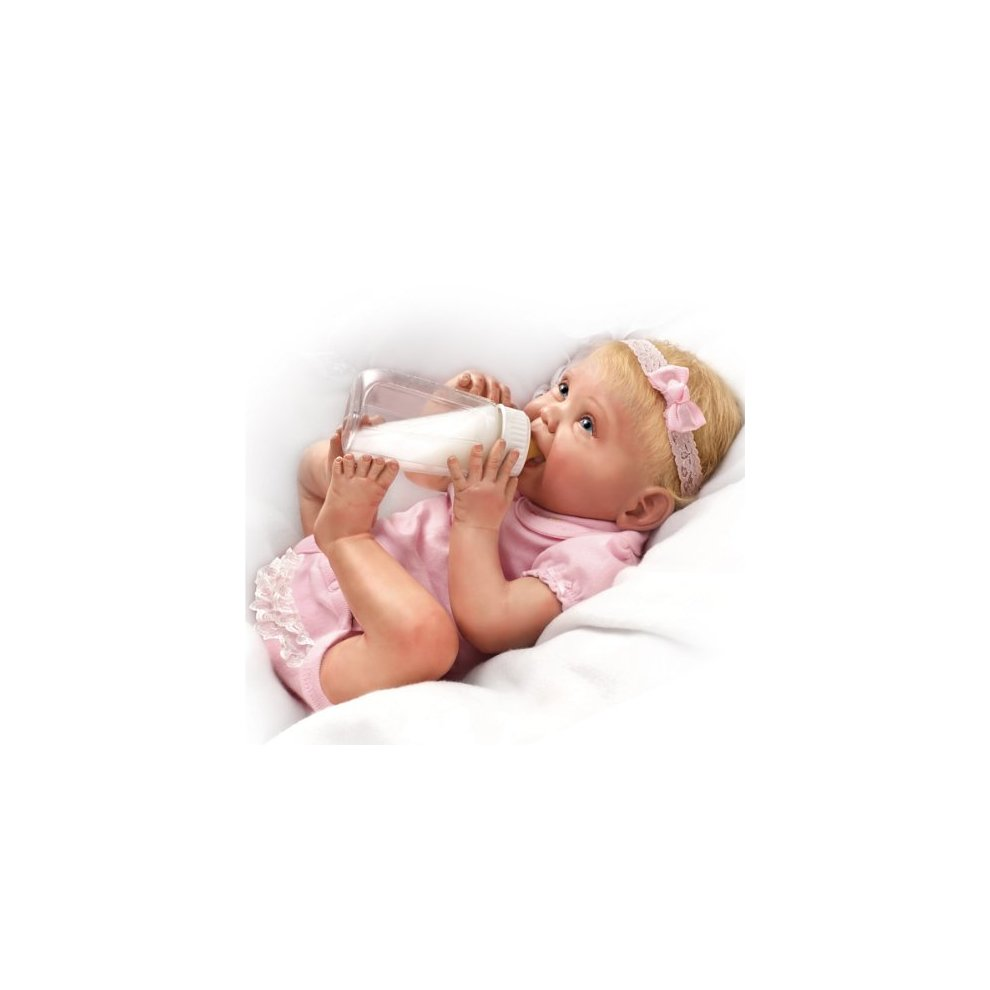 Bonnie Chyle Tippy Toes Collectible Lifelike Doll So Truly Real by Ashton Drake