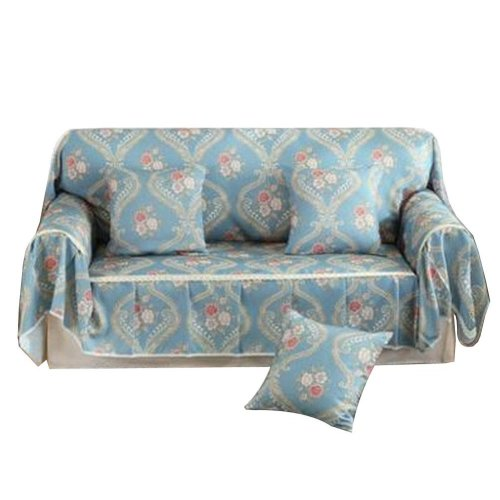 3 Seat Sofa Slipcover Elegant Couch Cover Furniture Protector #34