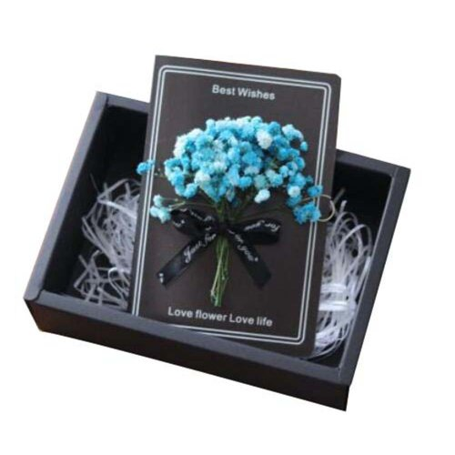 Modern Chic Thank You Card With Gift Boxes And Gift Bag for Every Occasion