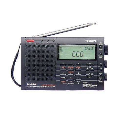 Tecsun PL-660 Portable Shortwave FM / AM World Radio Compact Receiver