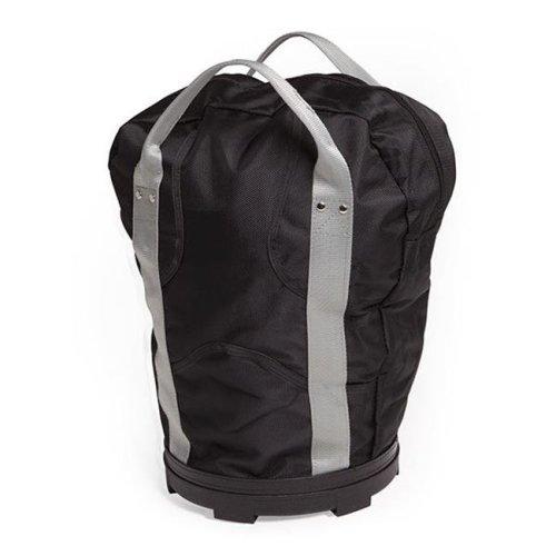 Lacrosse Ball Bag, Black & Gray