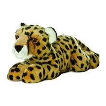 Aurora World 31425 12-inch Flopsie Cheetah Stuffed Toy - 12inch -  aurora world 31425 12inch flopsie cheetah stuffed toy