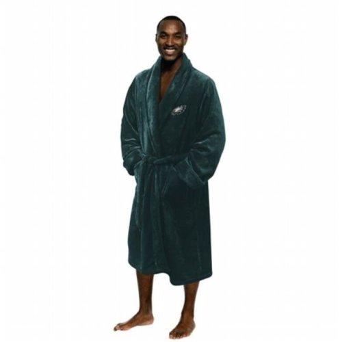 Northwest 1NFL-34900-0011-RET NFL Eagles Man Bath Robe, Large & Extra Large