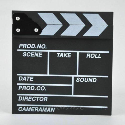 Clapper Board Director Props TV Movie Film Cut Classical Video Scene