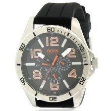 Hugo Boss Black Silcone Mens Watch 1512945