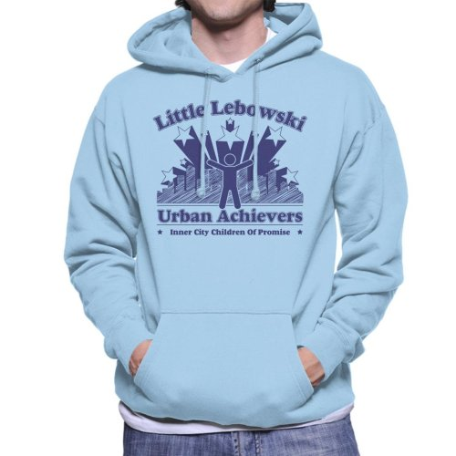 Big Lebowski Inspired Urban Achievers Men's Hooded Sweatshirt