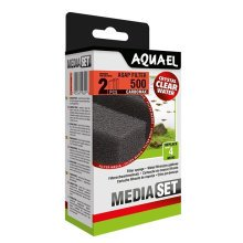 Aquael ASAP 500 Replacement Sponge with Carbomax x2