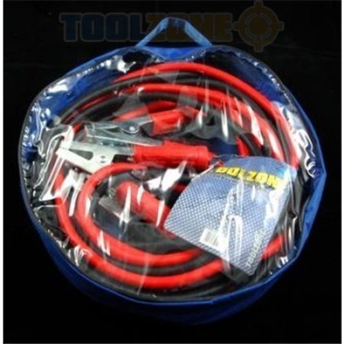 Trade Quality 800amp 6 Metres Professional Jump Leads - Heavy Duty Booster Long -  jump leads 800amp 6 metres professional trade quality heavy duty