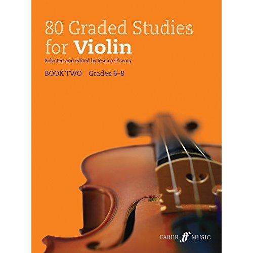 80 Graded Studies for Violin Book 2 (Graded Studies Series)