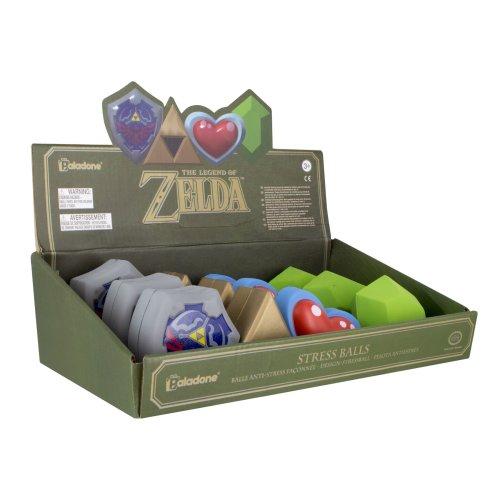 Nintendo The Legend Of Zelda Stress Ball Display CDU of 12pcs