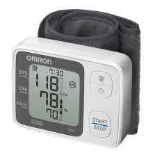 Omron RS3 Automatic Intellisense Wrist Blood Pressure Monitor HEM-6130-E