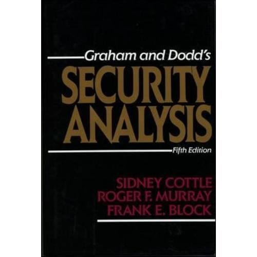 Security Analysis: Fifth Edition (Business Books)