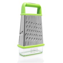 Home Icon Cheese Grater with Container and Lid