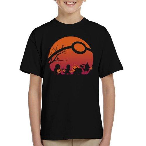 Trick Or Treat Pokemon Kid's T-Shirt