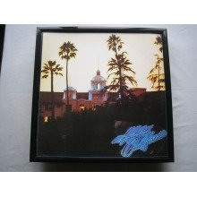 EAGLES Hotel California framed LP cover for wall mounting BLACK