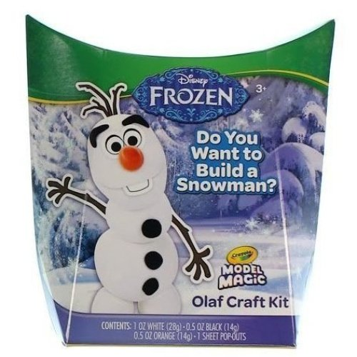 Crayola Disney Frozen Olaf Craft Kit Crayola Model Magic Toy