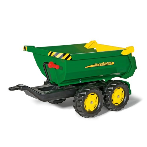 rolly toys 122165 Franz Cutter John Deere Giant Half-Pipe Trailer