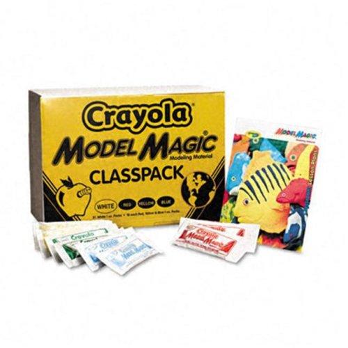 Crayola 23-6002 Model Magic Modeling Compound- 1 oz- Assorted- 75/Carton