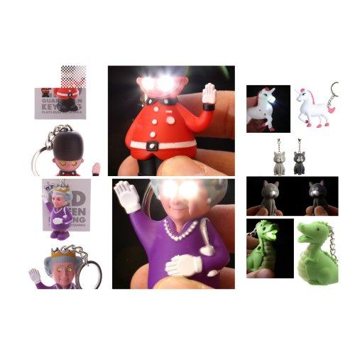 Novelty LED Keyrings