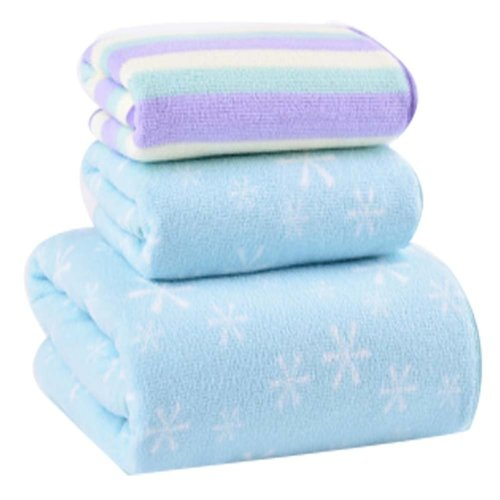 High Quality Strong Absorbent Towel Bath Towels Sets(Multicolor)