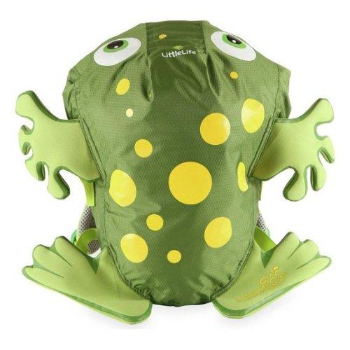 LittleLife Green Frog Backpack