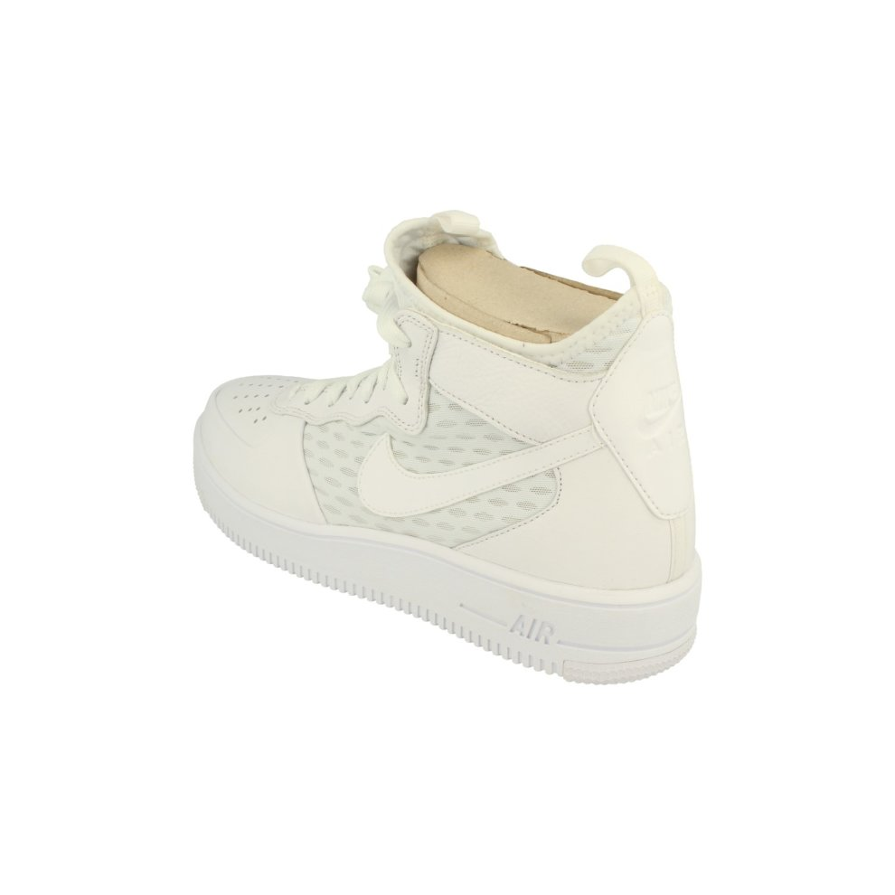 ... Nike Air Force 1 Ultraforce Mid Mens Hi Top Trainers 864014 Sneakers  Shoes - 1 ... 7b7bfc666