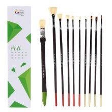 10 Pieces Paint Brushes Set Artist Paint Brushes Painting Supplies #09
