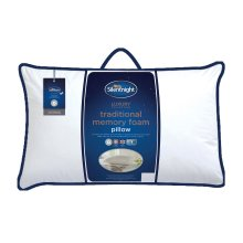 Silentnight Memory Foam Pillow, White
