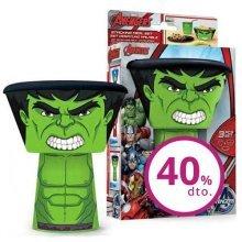 St181 - Stacking Meal Set - Hulk (avengers) - Avengers -  stacking meal set avengers hulk