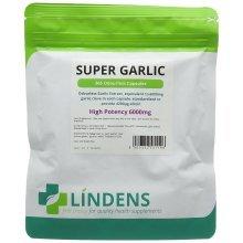 Super Strength Garlic 6000mg - 120 Odourless capsules
