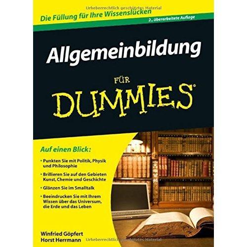 Allgemeinbildung fur Dummies (Für Dummies)