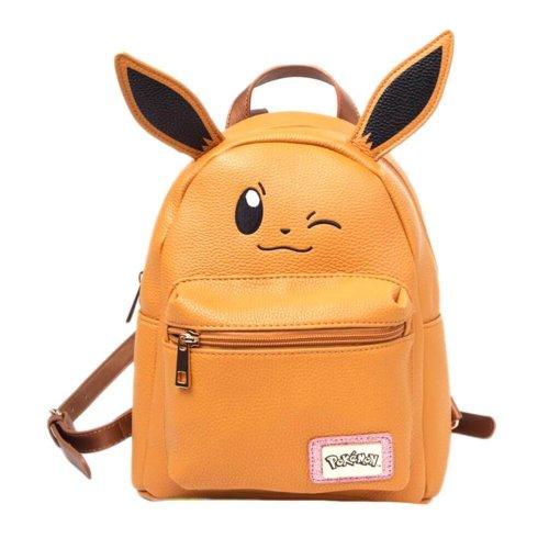 Pokemon Eevee Fashion Backpack with Ears