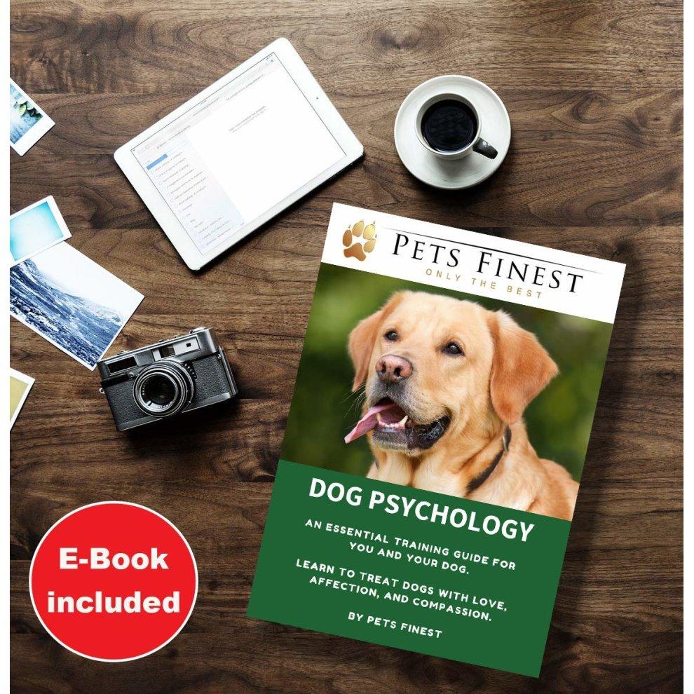 Pets Finest Anti Bark Dog Collar Advanced Intelligence Sound & Vibration  Stop Dogs Barking Anti Bark Dog Collar No Shock, No Spray, Dog Psychology