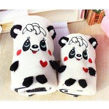 Qute Coral Velvet Fleece Blanket Soft Warm Big Size Pet Puppy Dog Cat Baby Soft